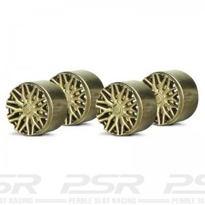 Slot.it Wheel Inserts BBS Gold SIPA13G