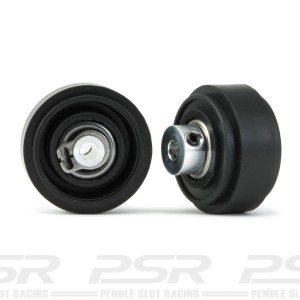 Slot.it 4WD Plastic 17.3 x 8.2 Front Wheels Assembled