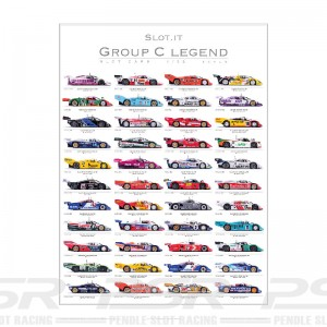 Slot.it Group C Legend Poster Signed