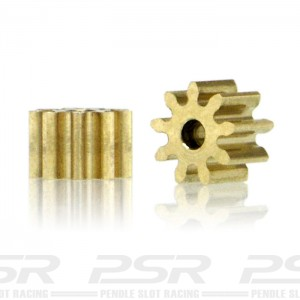 Slot.it Brass Pinion 9 Teeth 5.5mm - Internal 1.5mm