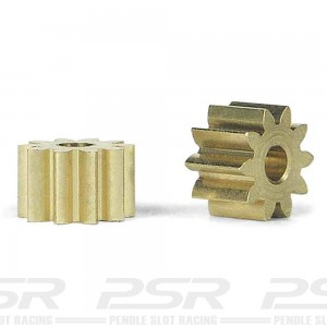 Slot.it Sidewinder Brass Pinion 10 Teeth 6.5mm SIPS10