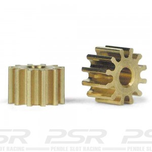 Slot.it Sidewinder Brass Pinion 12 Teeth 6.5mm SIPS12