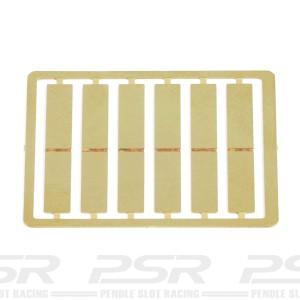 Slot.it LMP Pre-Cut Brass Tabs