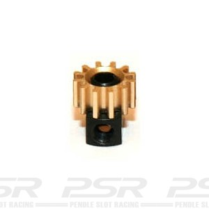 Sloting Plus Brass 12t Pinion Removable 6.5mm SP085112