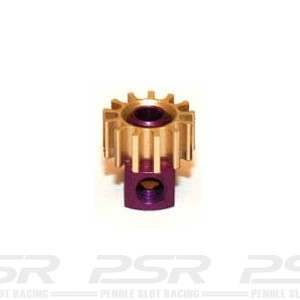 Sloting Plus Brass 13t Pinion Removable 6.7mm SP085313