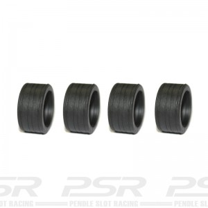 Sloting Plus SR4 Slick Radial Tyres 19x9mm