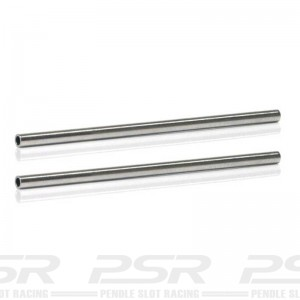 Sloting Plus Stainless Steel Hollow Axle 52.5mm 3/32
