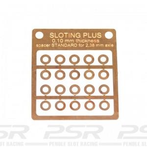 Sloting Plus Spacer 0.10mm Standard Bronze 3/32