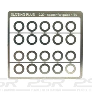 Sloting Plus Spacer 0.20mm for 1/24 Guide