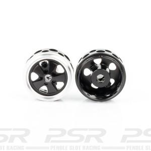 SRC Aluminium Fuchs Original Black Wheels