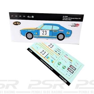 SRC Decals Ford Capri 2600 RS No.23