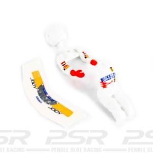 SRC Pilot Jody Scheckter Ferrari F1