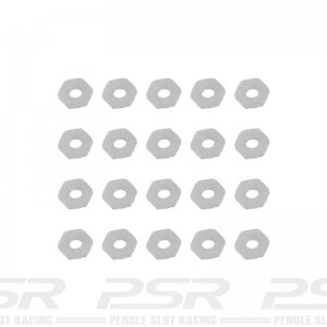Sloting Plus Nuts M2 Nylon Standard