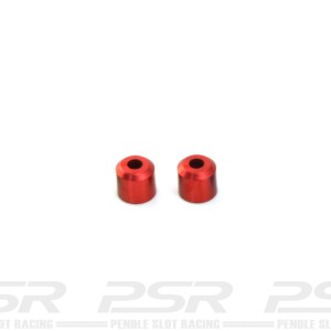 MR Slotcar Evolution Body Post Tubes 5.5mm Red