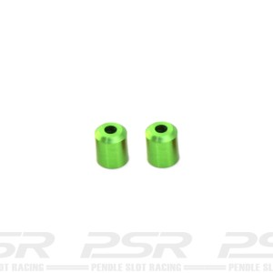 MR Slotcar Evolution Body Post Tubes 7.0mm Green