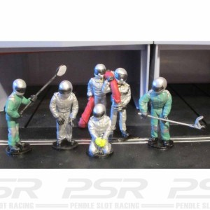 SRA Pit Crew at the Ready
