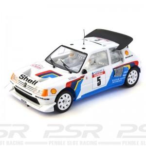 SRC Peugeot 205 T16 Evo2 No.5 Tour de Corse 1986