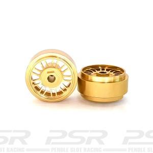 Staffs Aluminium Wheels BBS Gold 16.9x8.5mm