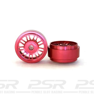 Staffs Aluminium Wheels BBS Red 16.9x8.5mm