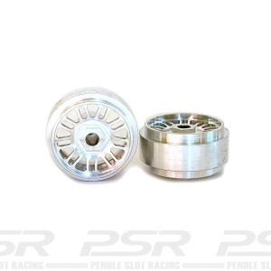 Staffs Aluminium Wheels BBS Silver 16.9x10mm