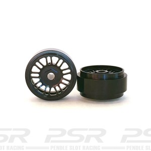 Staffs Aluminium Wheels BBS Black 16.9x10mm