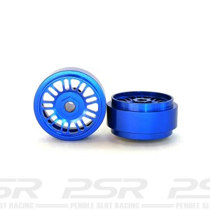 Staffs Aluminium Wheels BBS Blue 16.9x10mm