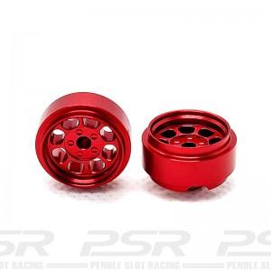 Staffs Aluminium Wheels Classic Red 15.8x8.5mm