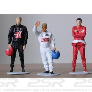 Slot Track Scenics 1/43 F1 Teams 2020 Driver Decals