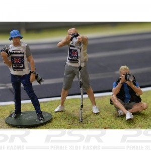 Slot Track Scenics 1/43 Photographers Set A