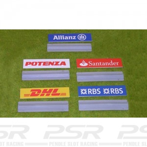 Slot Track Scenics Advertising Boards A x5 STS-AB3A