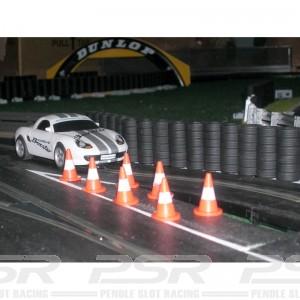 Slot Track Scenics Cones x10