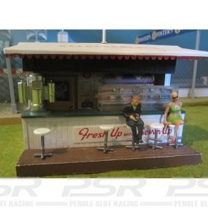 Slot Track Scenics 5 Bar Stools