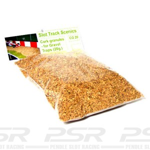 Slot Track Scenics Cork granules for gravel traps (30g) STS-CG30