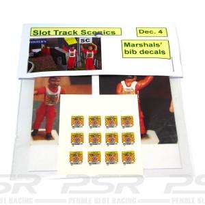 Slot Track Scenics Marshal Bibs
