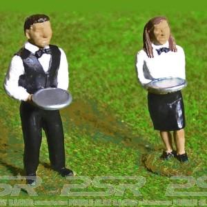 Slot Track Scenics Waiter & Waitress