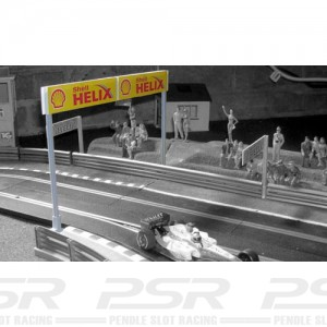 Slot Track Scenics Long boards on Stanchions STS-GK1