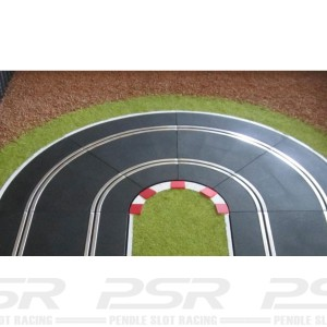 Slot Track Scenics Kerbs for Radius 1 Curves