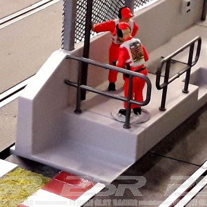 Slot Track Scenics Pair of Pit Wall Ends