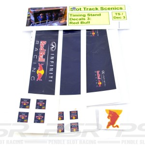 Slot Track Scenics Timing Stand Decals RB