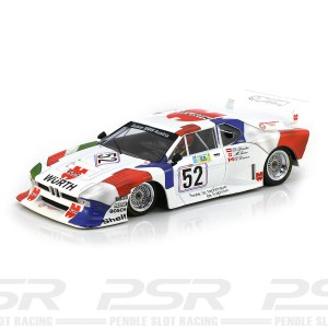 Racer Sideways BMW M1 No.52 Wurth Le Mans 1981