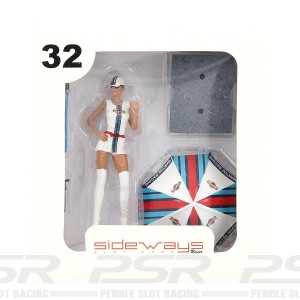 Racer Sideways Martini Racing Figure Estelle