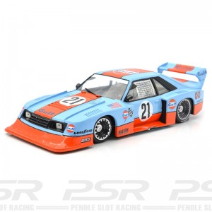 Racer Sideways Ford Mustang Turbo Gulf Racing