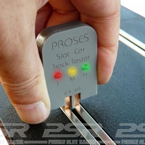 Proses Slot Car Track Tester