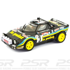 Team Slot Lancia Stratos No.3 Le Point