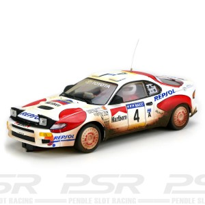 Team Slot Toyota Celica GT4 Rally Catalunya 1992 Mud Effect