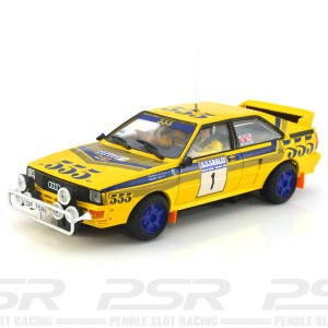 Team Slot Audi Quattro A2 Hong Kong Beijing Rally 1985