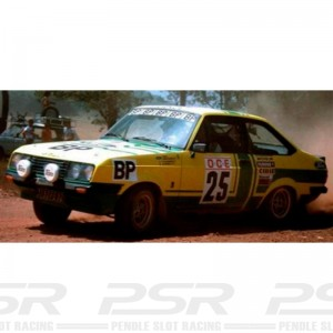 Team Slot Ford Escort MKII RS2000 No.25 Morocco Rally 1979