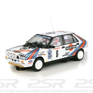 Team Slot Lancia Delta HF No.6 Monte Carlo Rally 1987