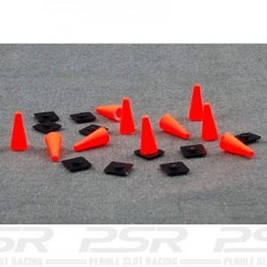 Team Slot Coloured Cones x10 TM-63002