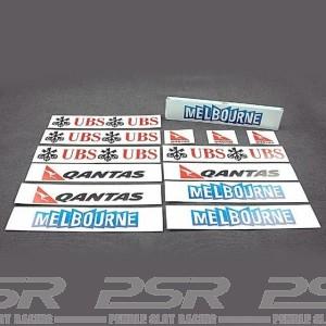 Team Slot Scenic Stickers Oceania